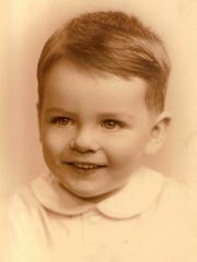 Donnie Walsh as a toddler. He grew up in the Bronx