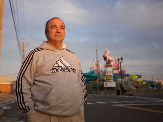 Seaside Heights Mayor William Akers shared the story