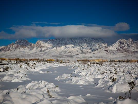 Sunday Snow in Las Cruces