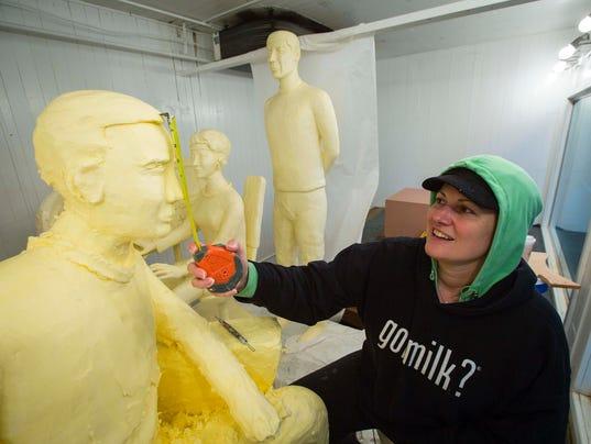 state fair butter sculpture