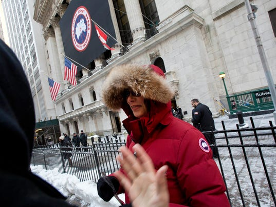 AP FINANCIAL MARKETS CANADA GOOSE IPO F USA NY