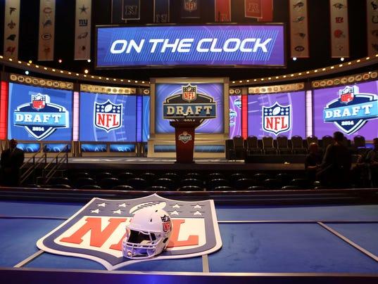 USP NFL: 2014 NFL DRAFT S FBN USA NY
