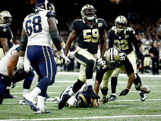 NFL: Los Angeles Rams at New Orleans Saints