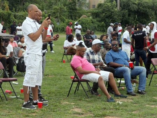 Hutchinson park party