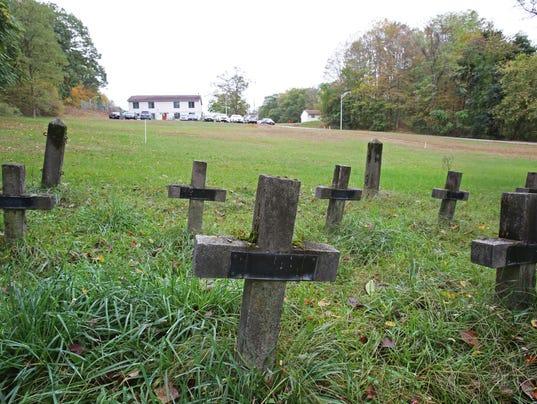 prison cemetery