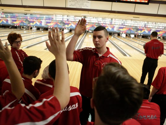 Section 1 Boys Bowling