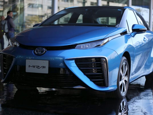 Ces 2015 Toyota Opens Up Hydrogen Fuel Cell Patents