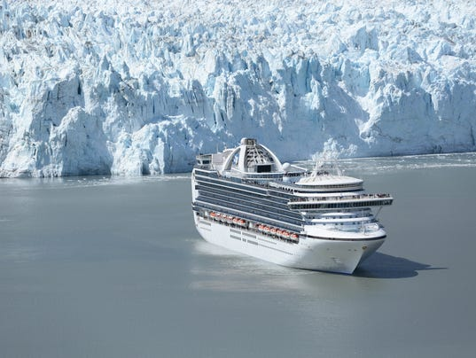 New Princess Route Los Angeles To Alaska And Back - Cruise from los angeles