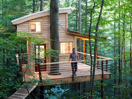 Northside man 39 s business custom tree houses for adults for 8 living room tree houses powys