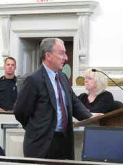 Lance Salisbury, a defense attorney for Roy Clements,