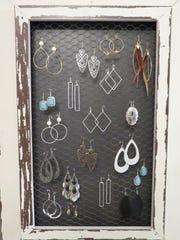 earrings inside Indigo Rose