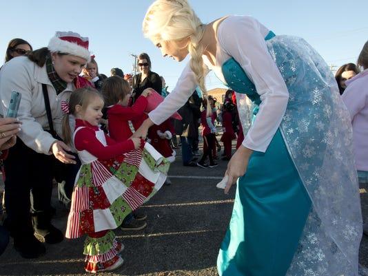 Pensacola Elf Parade