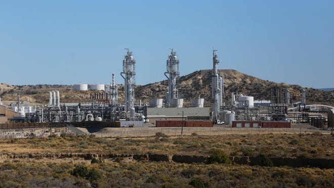 ConocoPhillps' San Juan Gas Plant is pictured on Monday in Bloomfield.