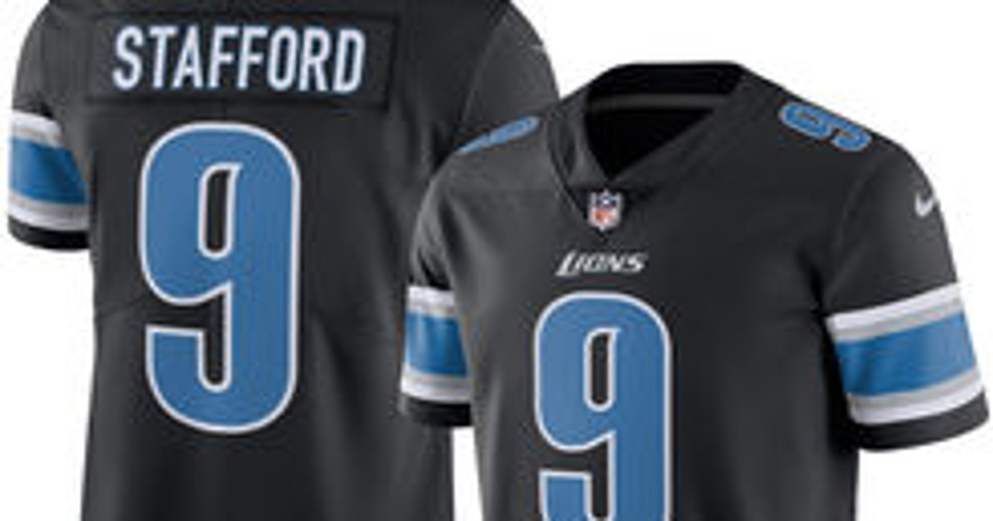 Back in black! Detroit Lions reveal their Color Rush uniforms 899f54bd2