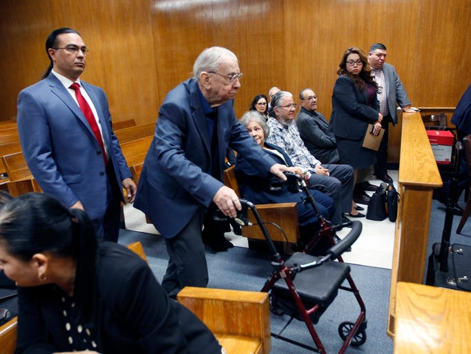 John Bernard Feit enters the 92nd state District Court