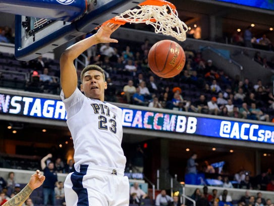 Pittsburgh Panthers guard Cameron Johnson originally