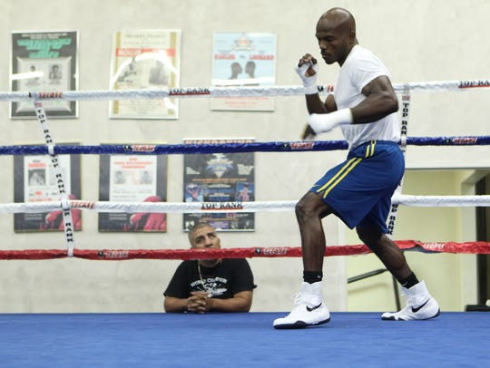 Joel Diaz trained Timothy Bradley for over a decade.