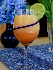 Summertime Citrus Slush is refreshing with rum or without.