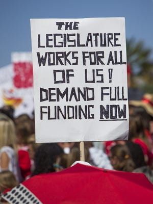 Demonstrating teachers got some concessions from Gov. Doug Ducey and the Legislature. But, apparently, not all that was promised.