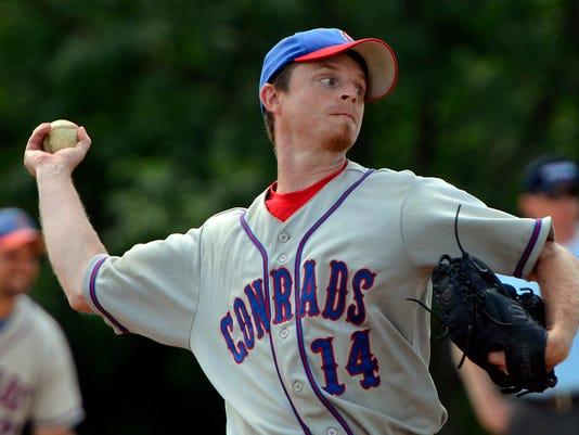 """Conrads vs York Township Baseball"""