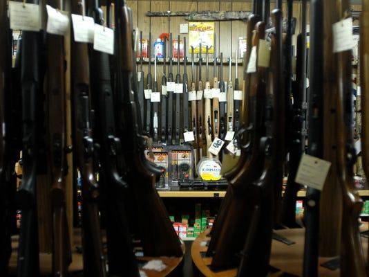 Gun sales up