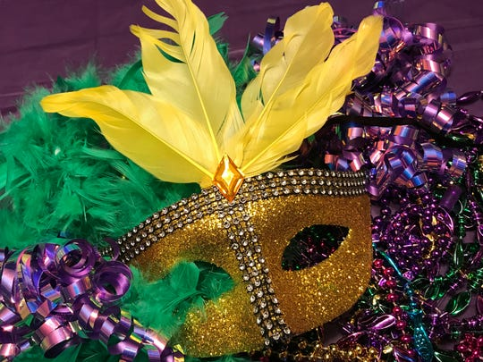 The revelry of Mardi Gras will take place in a variety