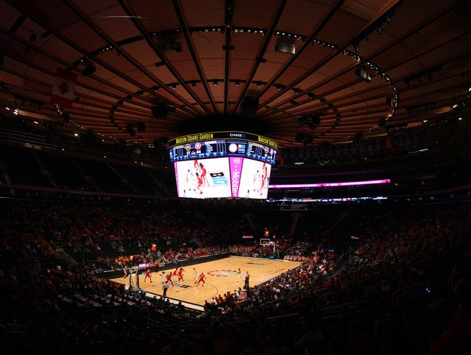 Image result for big ten tournament 2018 msg