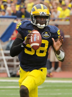 Devin Gardner has completed 61.2 percent of his passes this season (139-of-227).