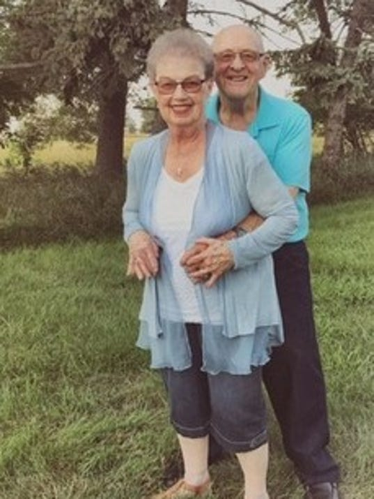 Anniversaries: Donna Smart & Wally Smart