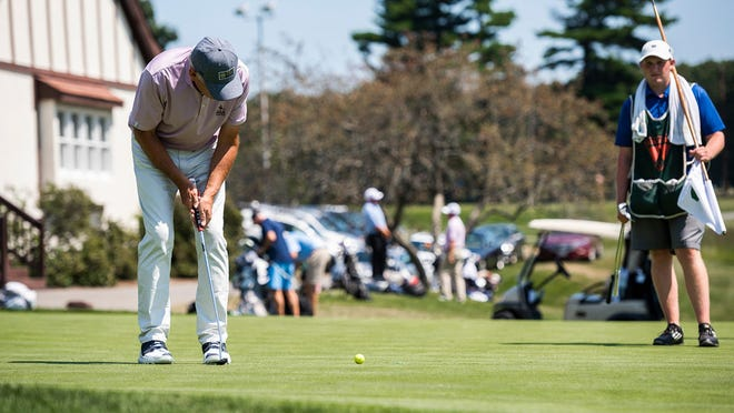 Former PGA of America president Jim Remy played at last year's Lori Lajoie Charity Golf Tournament at Worcester Country Club.