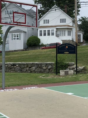 "The rims at Fall River basketball courts remain down because the state's COVID regulations state that sports like basketball ""must be limited to no-contact drills and training exercises,"" and the city doesn't have enough staff to make sure any hoops playing is limited to just that."