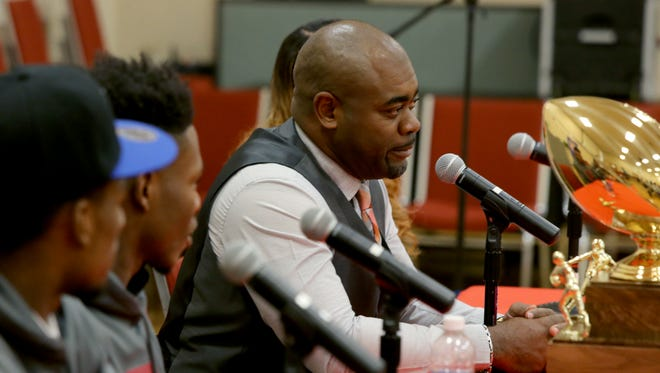 Marcus Wimberly took East to the playoffs nine times in 12 seasons and won the 2016 Class 4A state title. He was announced as Cordova's next coach on Friday.