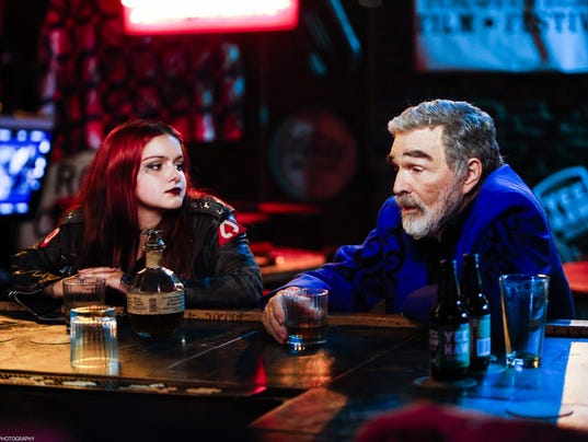 Ariel Winter and Burt Reynolds in 'Dog Years'