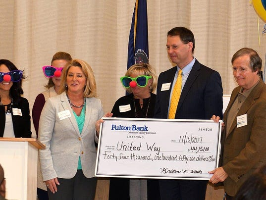 636464497161058709-Fulton-Bank-presents-check-to-Bob-Hoffman-11-16-17.jpg