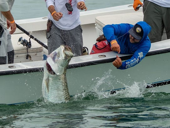 Competitors caught and released 49 fish seventh annual