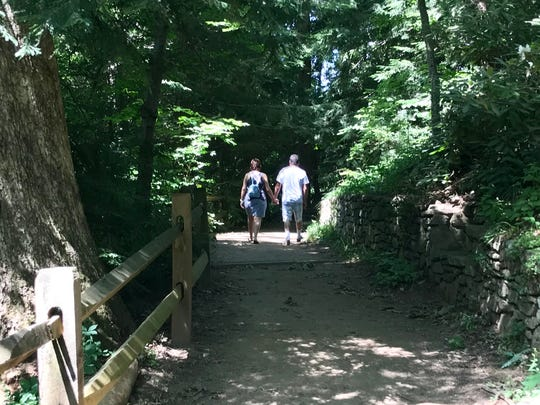 The Botanical Gardens at Asheville is a 10-acre preserve