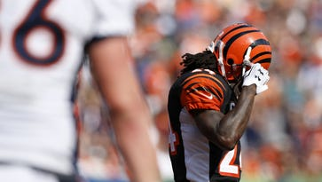 Bengals notes: Hill not satisfied; Jones takes blame