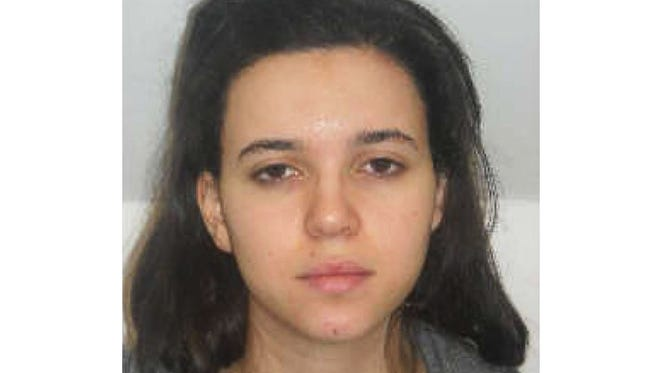 Hayat Boumeddiene, 26, is wanted in connection with the attacks in France.