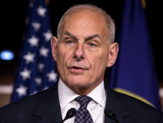 Image result for White House Chief of Staff John Kelly, photos