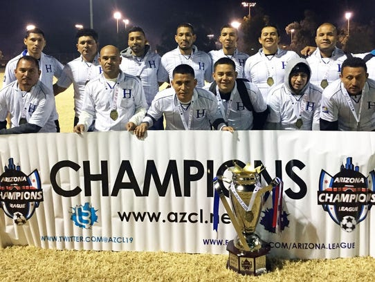 El Honduras en la cúspide de la División Premier.