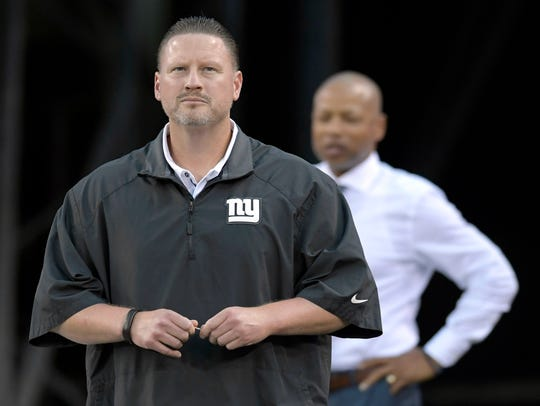 Giants have fired head coach Ben McAdoo and GM Jerry