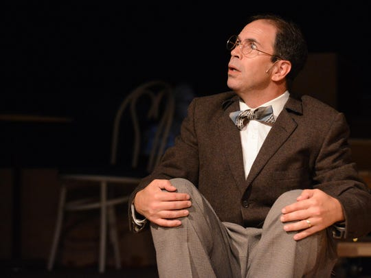"""Jeff Baer will play Amos, the clueless husband with a heart of gold, in Pentacle Theatre's """"Chicago the Musical"""" opening Friday, July 10."""