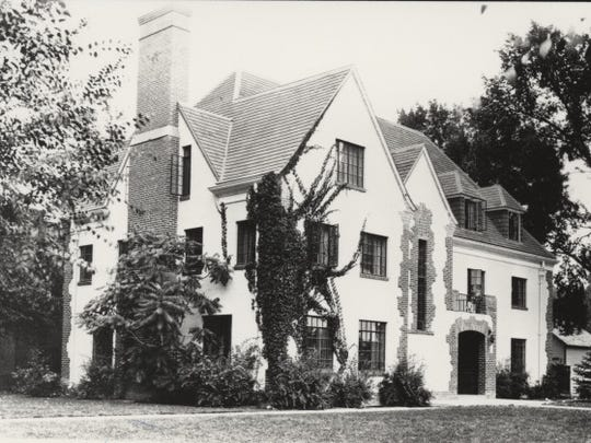 The Phi Delta Theta fraternity house at 200 E. Plum