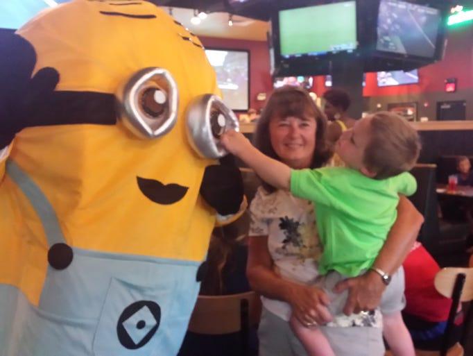 """On Aug. 24, Buffalo Wild Wings in Rockaway hosted """"Lunch"""