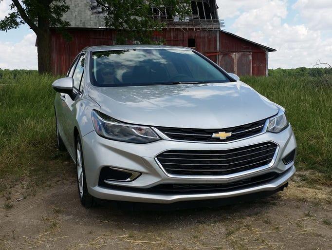 Detroit News auto critic Henry Payne drove a 2016 Chevrolet