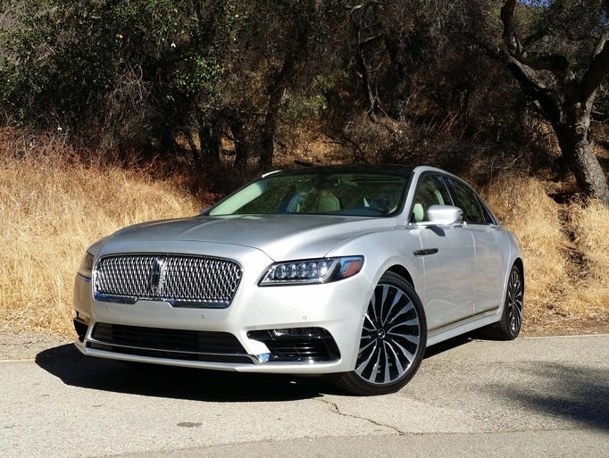 The stunning Lincoln Continental offers BMW 5-series