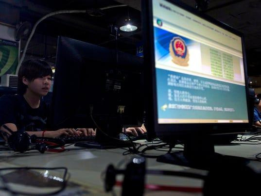 AP CHINA INTERNET CRACKDOWN I FILE CHN