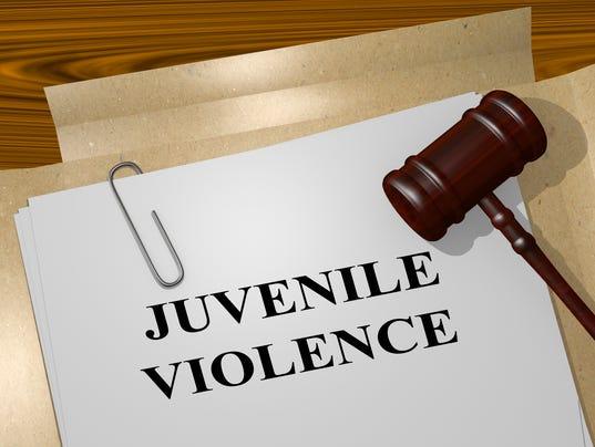 Juvenile Violence legal concept