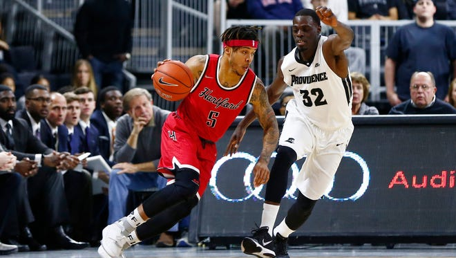 Hofstra transfer Pancake Thomas took an official visit to Nevada on Tuesday.