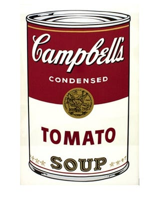 """Tomato"" is considered the most expensive and sought-after ""Campbell's Soup I"" screenprint from Andy Warhol's 1968 series of 10. It usually sells for around $70,000, said London-based art dealer Gul Coskun. On Wednesday, April 14, 2016, a Colorado-based artist offered Springfield a set of her Warhol-inspired prints."